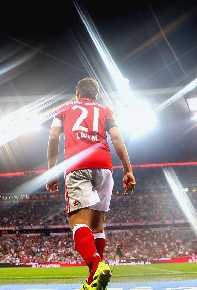 I Love FC Bayern Munchen and Die Mannschaft, Philipp Lahm.