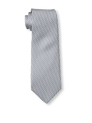 61% OFF Valentino Men's Cubes Tie, Grey