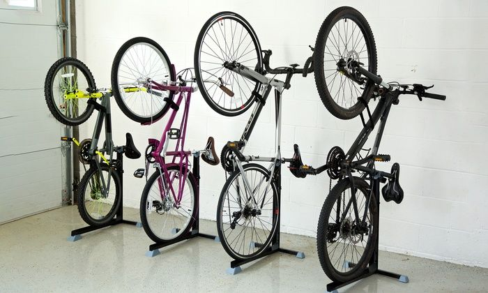 Groupon Goods Global Gmbh Bike Nook Rangement Vertical Pour