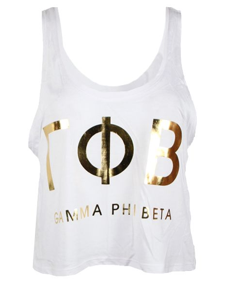 Top 25 ideas about gamma phi beta on pinterest sorority for Cute greek letter shirts