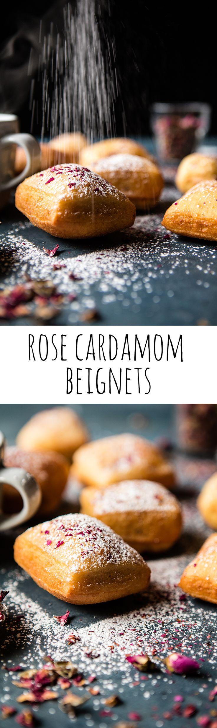 Cardamom Rose Beignets | halfbakedharvest.com @hbharvest