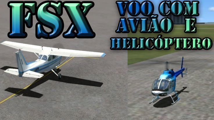 Flight Simulator X: Voo de avião e helicóptero