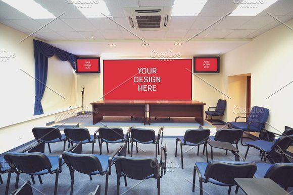 Auditorium Projector Mock Up 6 Mockup Free Psd Mockup Psd Mocking