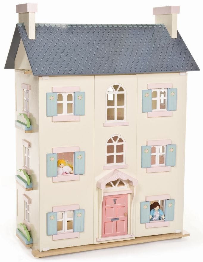 Le Toy Van - Doll House Cherry Tree Hall #Entropywishlist #PinToWin What a beautiful house this would be for my little girl, something she could play with for years!