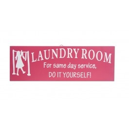 Laundry Room Wooden Sign $13.99