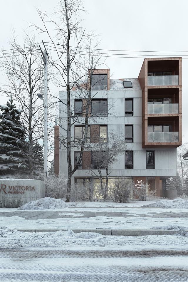 Name: Villa Victoria CGI: Nmachine Project: Wolski Architekci Year: 2016 Set: Winter Set Poland
