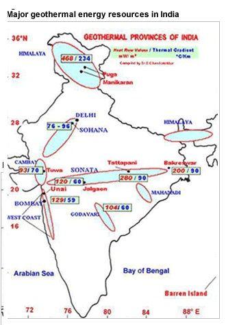 geothermal energy in india