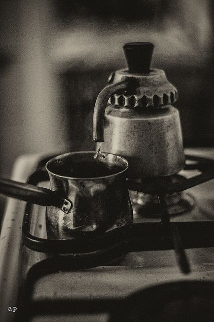 három csepp kávé/ three drops coffee by andreapiovanni, via Flickr