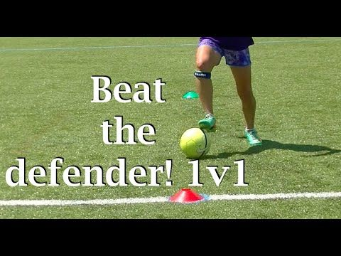1v1 soccer moves and the footwork behind them (part 2) - YouTube