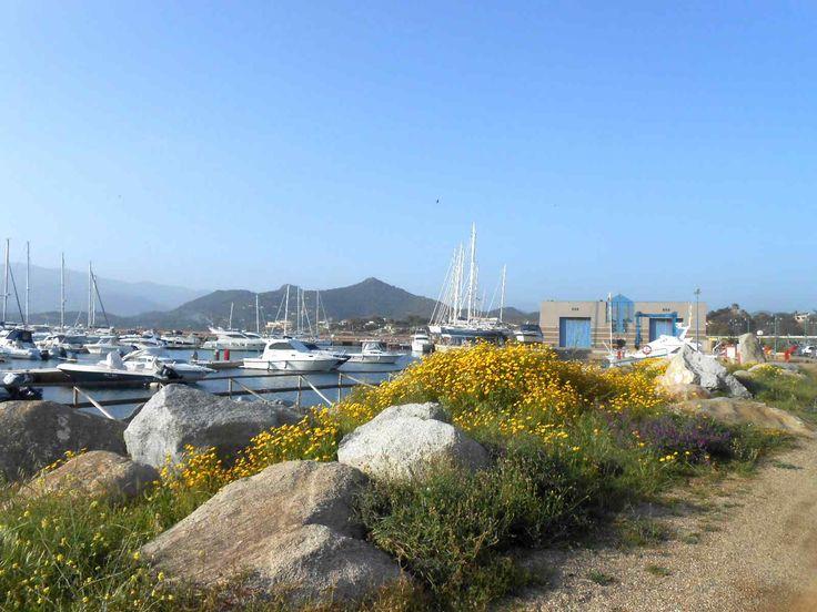 the port of Villasimius