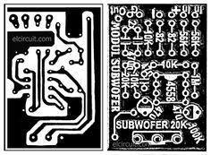 Subwoofer Filter 4558 PCB
