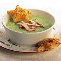 Mediterrane kip-courgettesoep recept - Soep - Eten Gerechten - Recepten Vandaag