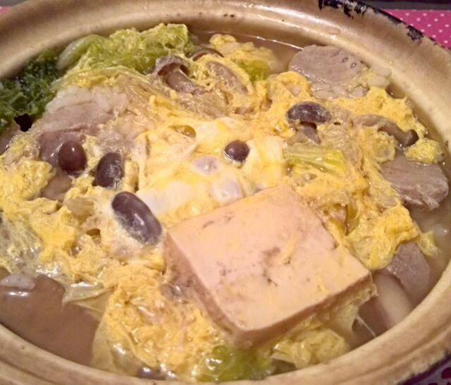 鮪のつみれ鍋の写真を撮り忘れました(^^; - 5件のもぐもぐ - 鮪のつみれ鍋の後は雑炊(その1) by shu1763