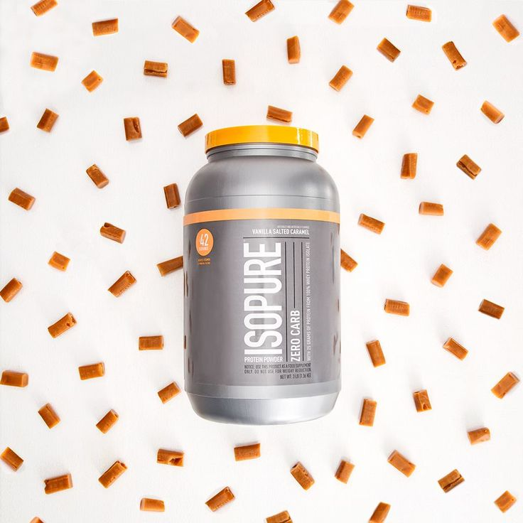We never thought we'd hear these three words in the same sentence. Our Vanilla Salted Caramel Zero Carb is your next favorite protein.