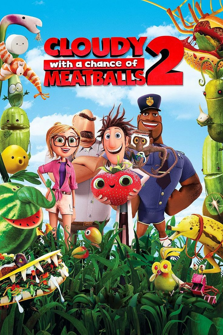 Cloudy with a Chance of Meatballs 2... SO CUTE & FUNNY!!!! I really suggest it for family night!