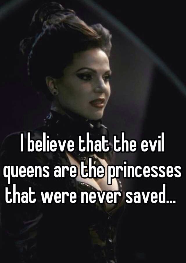This couldn't be any more fitting. #OnceUponATime #ReginaMills #EvilRegals