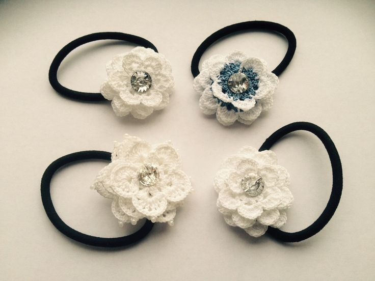 A personal favorite from my Etsy shop https://www.etsy.com/listing/228766046/crochet-lace-flower-hairband-bobbin-with