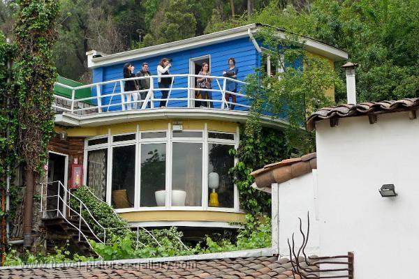 Pablo Neruda's house, 'La Chascona', Barrio Bellavista