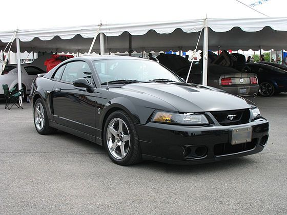"in early 2002, the 2003 Cobra, code named ""Terminator"" by the SVT development crew (and Bryan Adams), which quickly fell into common usage for the 2003/04 Cobra, came with a supercharged 4.6 L DOHC engine."