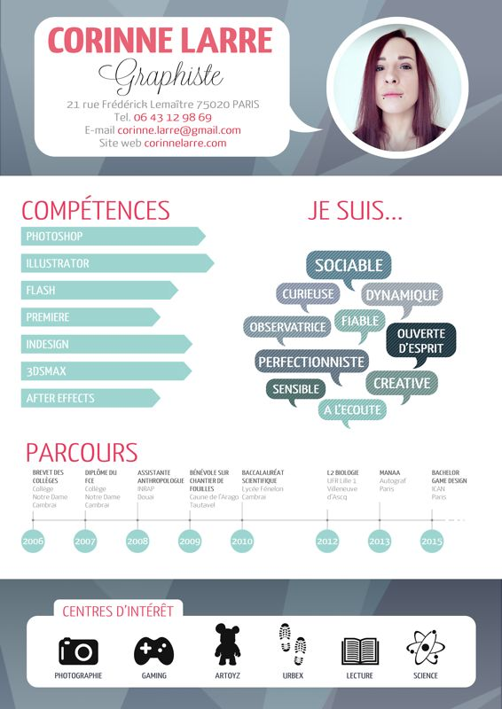 364 best ideas about cv modelos on pinterest infographic