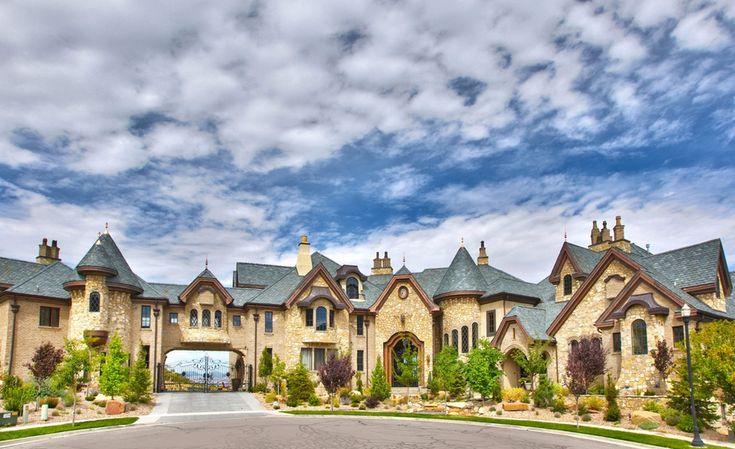 56 best utah 39 s mansions for sale images on pinterest for European mansions for sale