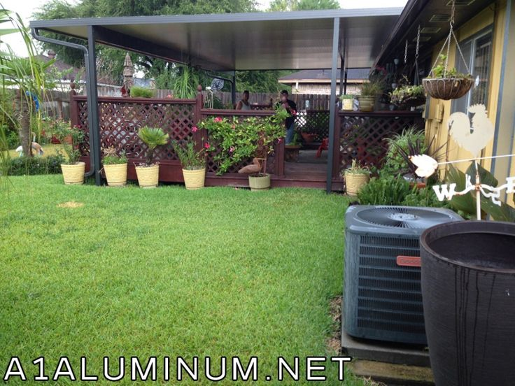 Aluminun Carport Ideas Backyard on