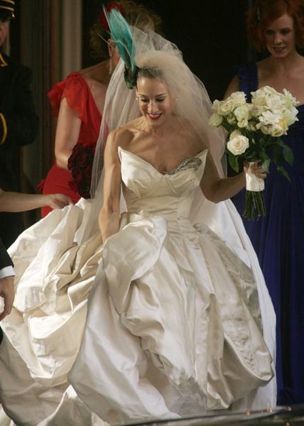Carrie Bradshaw Wedding Dress.