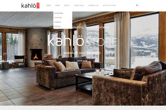Kahlo Store - eCommerce WP Theme by Theme Bullet on Creative Market