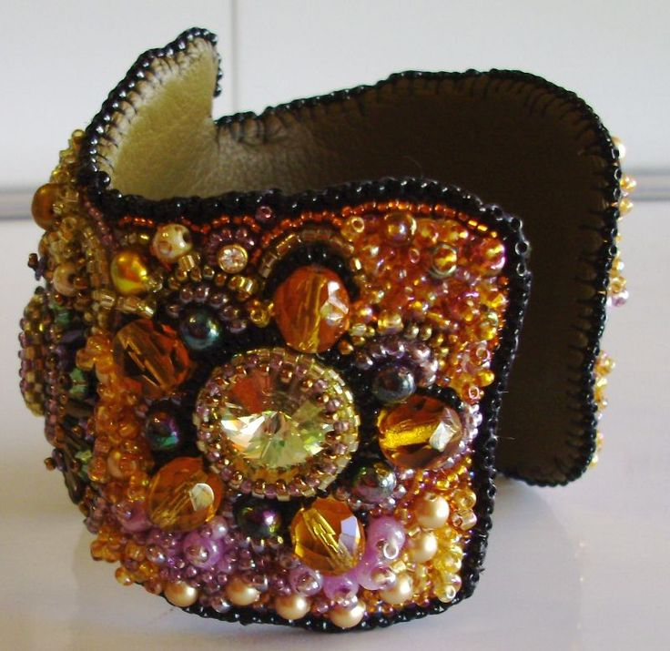 embroidery cuff