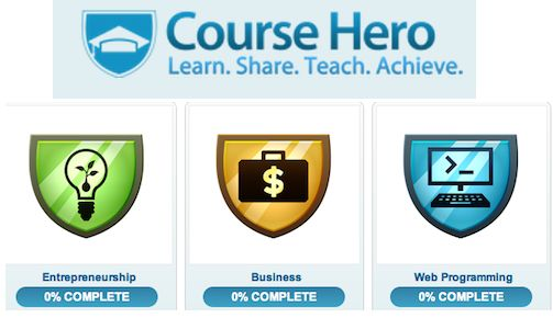 Course Hero: Heroes, Hero Curates, Course Hero
