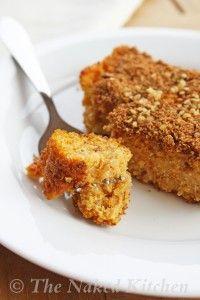 Clean Eating Sweet Potato Quinoa Polenta