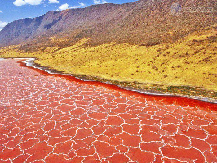 Des phénomènes naturels étonnants se manifestent aux quatre coins du monde. Il en résulte la formation de paysages, plus ou moins anciens, à couper le souffle.D'un bleu turqu...
