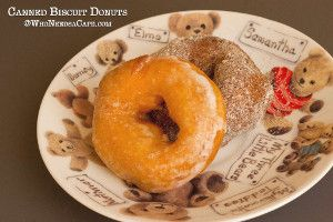 Semi-Homemade Canned Biscuit Donuts | TheBestDessertRecipes.com