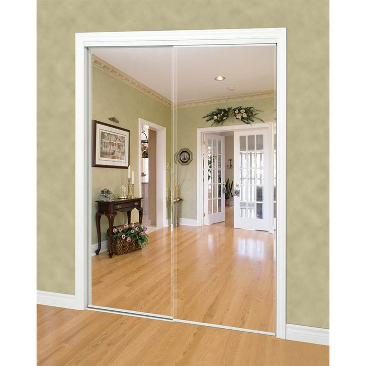 Sliding Mirror Closet Doors Install Flush Sliding Closet