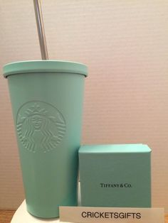 "STARBUCKS Stainless Steel Cold Cup-Matte Mint 16 oz Grande HTF <a class=""pintag"" href=""/explore/Starbucks/"" title=""#Starbucks explore Pinterest"">#Starbucks</a>"