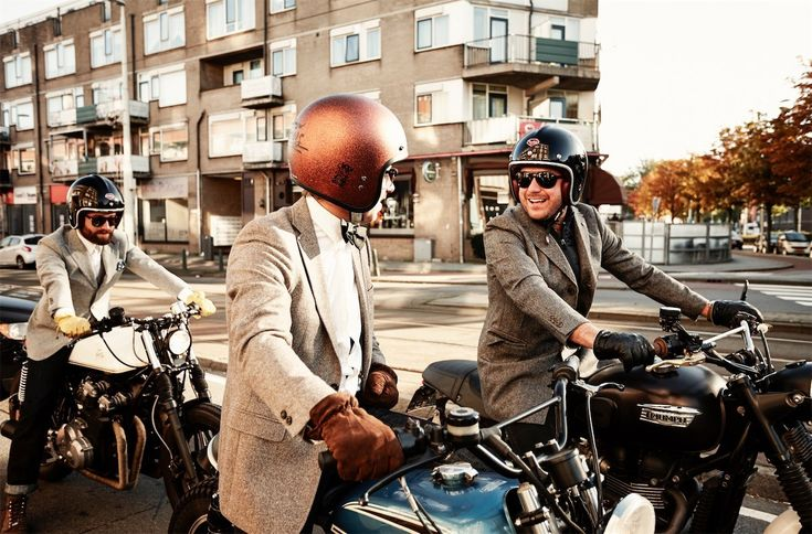 The 2016 Distinguished Gentlemans Ride : Gateway to the World - Rotterdam