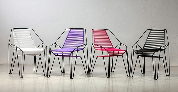 Furniture design by ODA and DOSUNO Design.  Chair, cool, colors, modern, decoration.