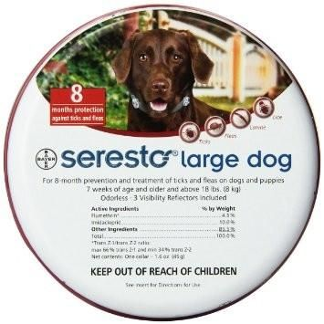 Beat the Flea and Tick Situation with Seresto Collars!