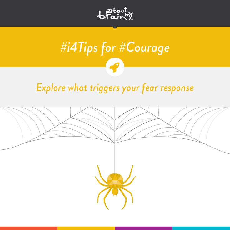 #i4tips for developing #Courage = explore what triggers your fear response! #i4Model http://www.aboutmybrain.com/i4tips
