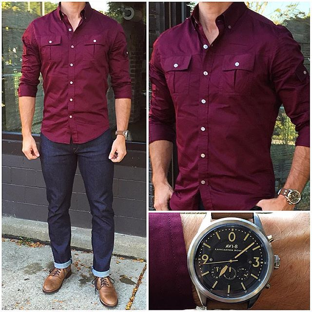 25 best ideas about today 39 s outfit on pinterest for What goes with burgundy shirt