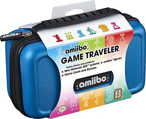 RDS Industries Nintendo Amiibo Game Traveler Carrying Case - Blue