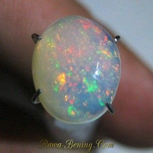 Batu Opal Kalimaya Afrika Bening 1.85 carat Cahaya Warna Warni Indah