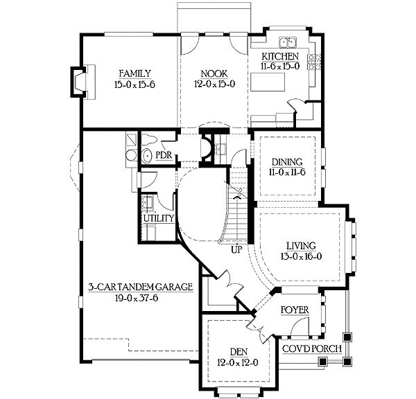 74 best when a drafter plans a house images on for Perfect for corner lot house plans
