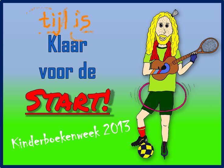 Beluister 6 liedjes van Tijl Damen voor de Kinderboekenweek 2013 in het thema 'Sport en spel op het schoolplein'.