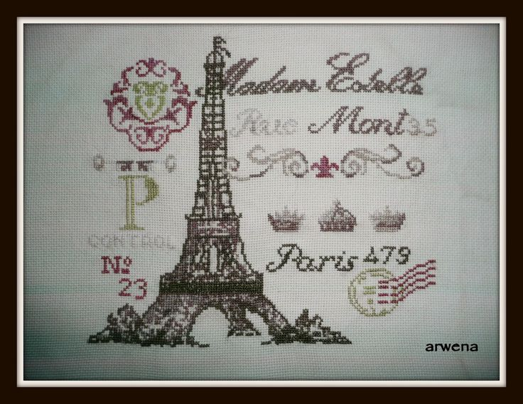 Radosne Inspiracje: Carte Postale De Paris .