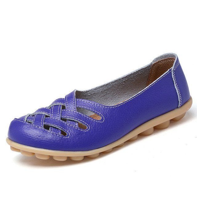 Intense Purple Casual Comfy Smooth Shoes with Lattice Hatched Upper - – Nodule Shoe