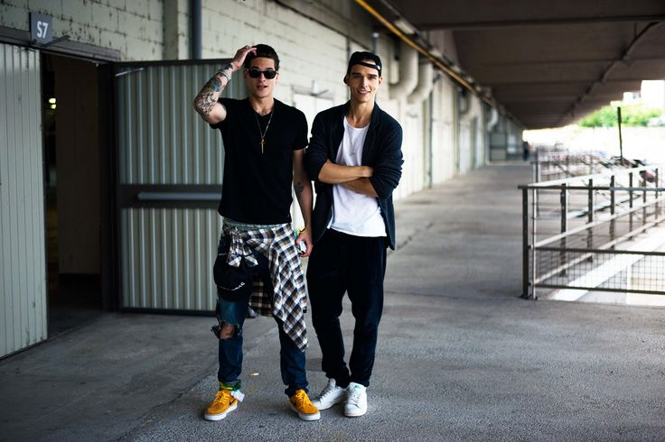 Call Off Duty: Street Style Behind the Scenes With Top Male Models Diego Frangoso and Alex Cunha after GIVENCHY 2015 SHOW