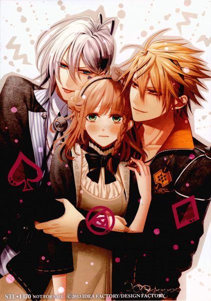 Tags: Anime, Scan, Hanamura Mai, Official Art, AMNESIA