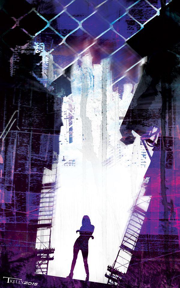 Jessica Jones by artist Tom Kelly by TomKellyART.deviantart.com on @DeviantArt