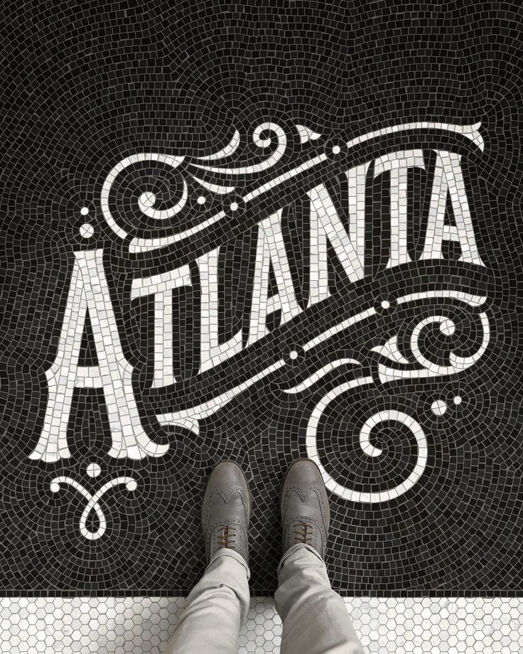 Fauxsaics: a Series of Typographic Mosaic Illustrations
